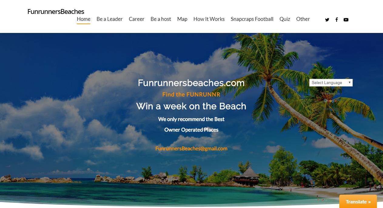 Runners Beach Portal