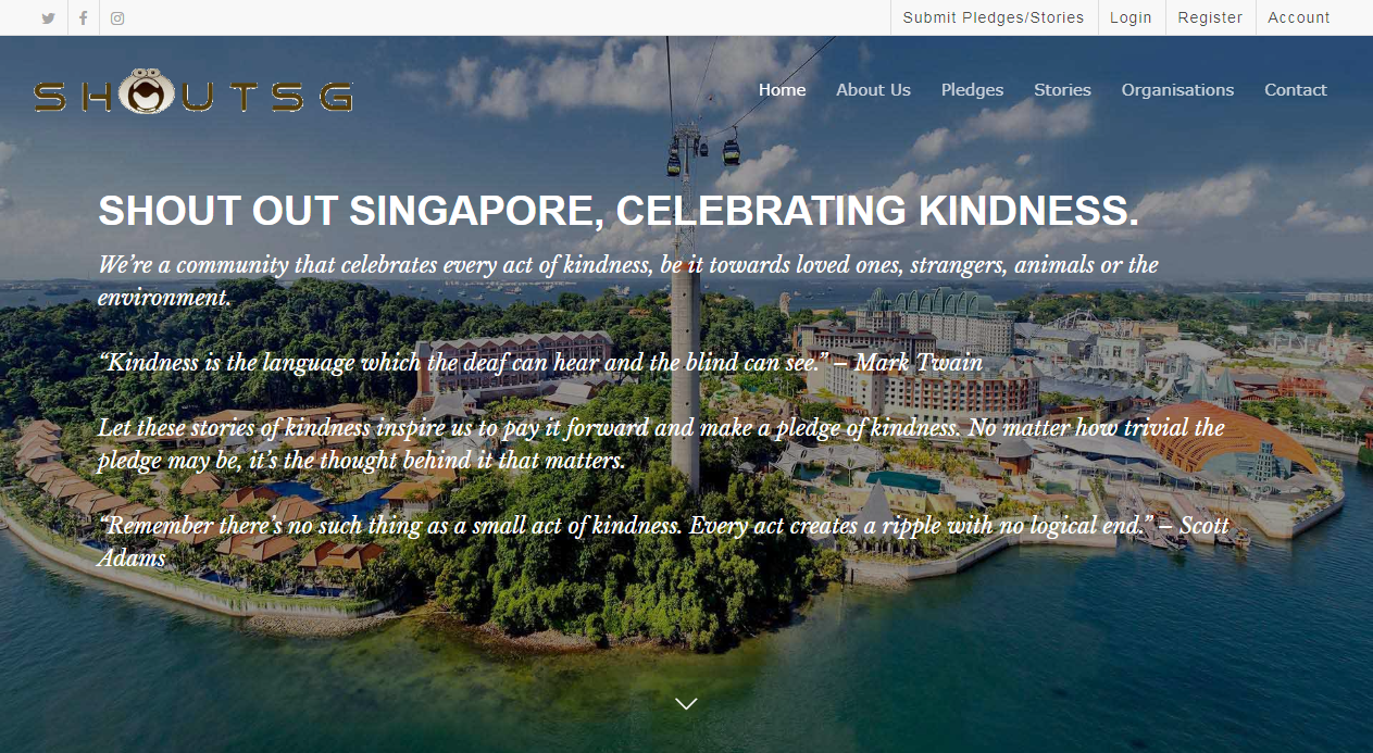 Singapore Pledges and Stories