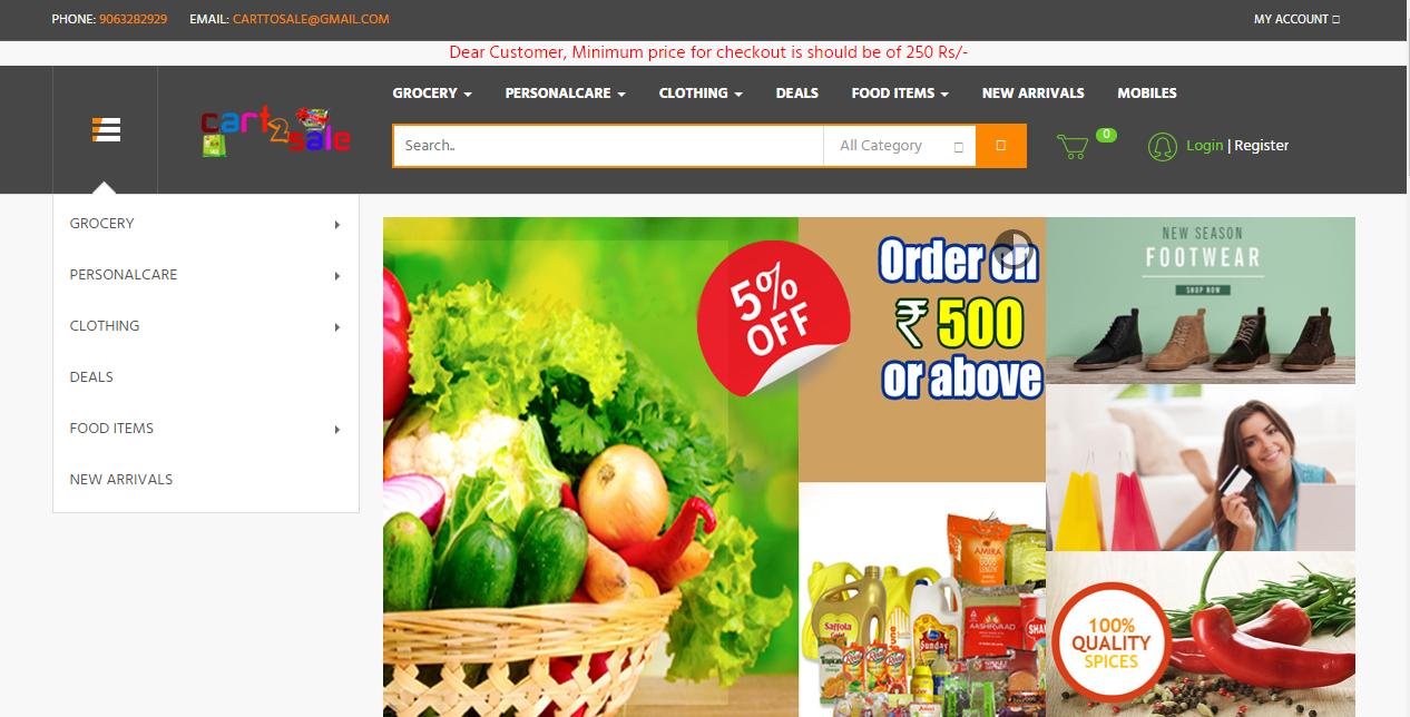 Cart2sale