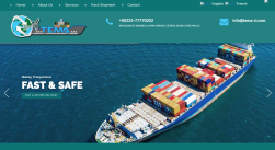 Tema ci Shipping and Logistics Portal