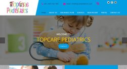 Top Care Pediatrics Information Website