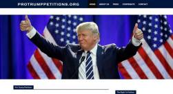 Protrump Petition Portal to support President Donald Trump