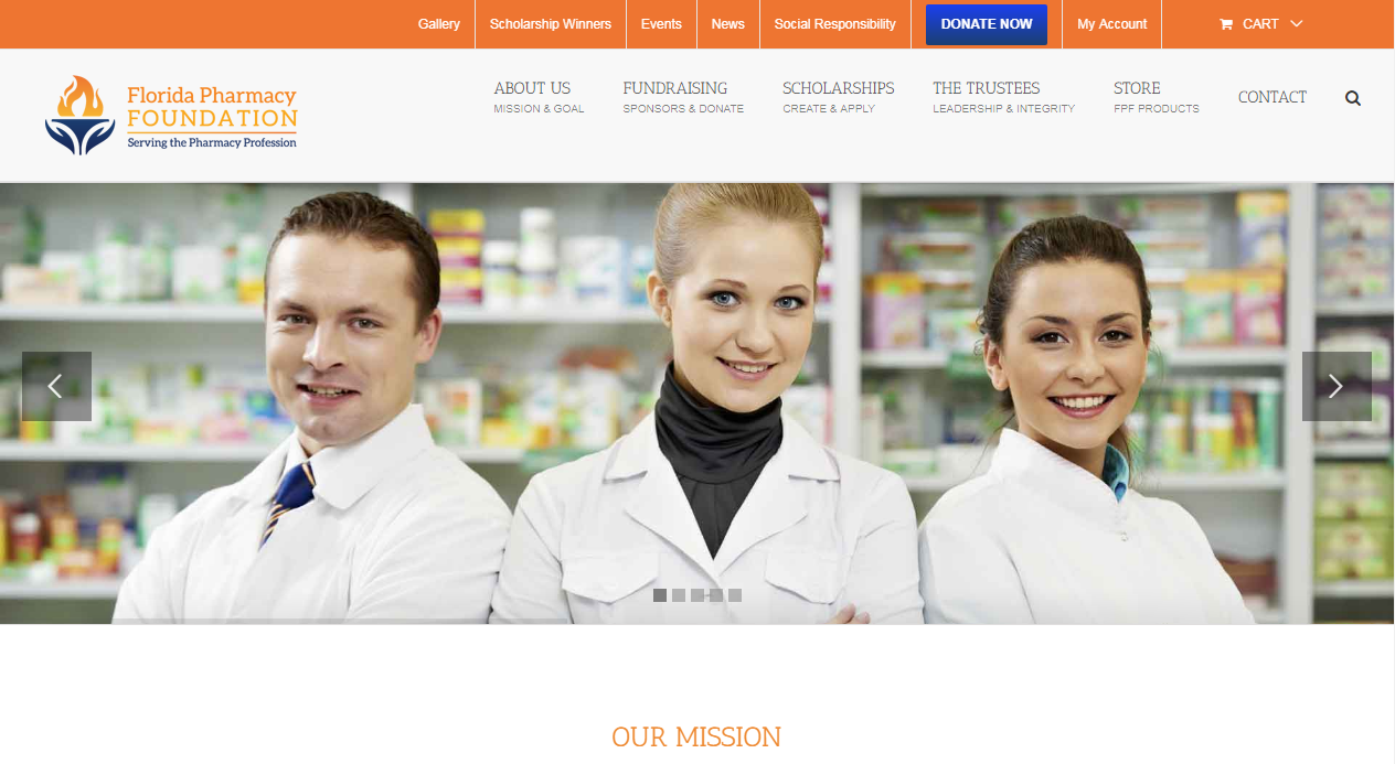 Pharmacy Foundation Portal
