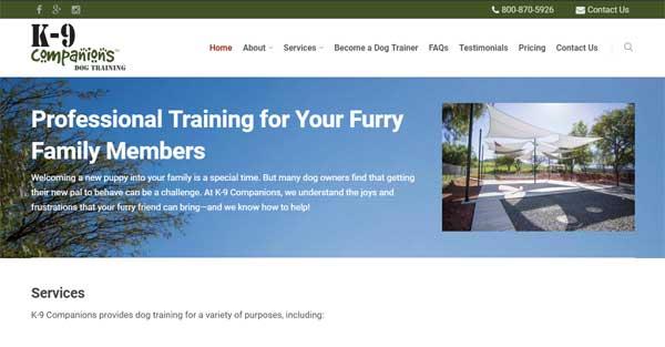 k-9companions Dog Training